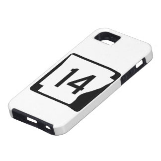 Arkansas State Route 14 iPhone SE/5/5s Case