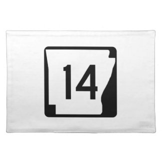Arkansas State Route 14 Placemat