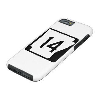 Arkansas State Route 14 Tough iPhone 6 Case