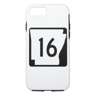 Arkansas State Route 16 iPhone 8/7 Case