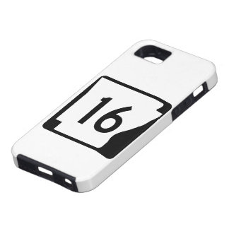 Arkansas State Route 16 iPhone SE/5/5s Case