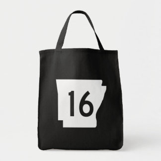 Arkansas State Route 16 Tote Bag