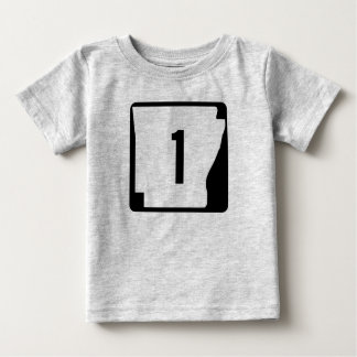 Arkansas State Route 1 Baby T-Shirt