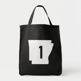 Arkansas State Route 1 Tote Bag