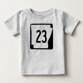 Arkansas State Route 23 Baby T-Shirt