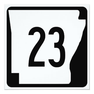 Arkansas State Route 23 Card