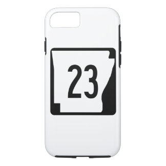 Arkansas State Route 23 iPhone 8/7 Case