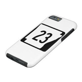 Arkansas State Route 23 Tough iPhone 6 Case