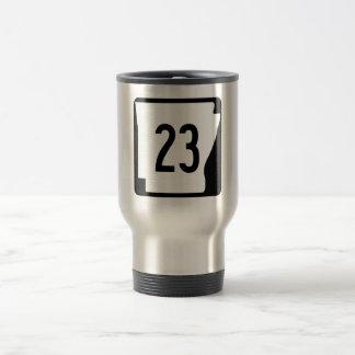 Arkansas State Route 23 Travel Mug