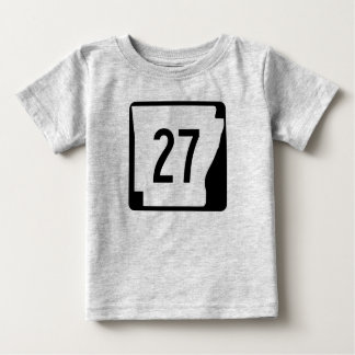 Arkansas State Route 27 Baby T-Shirt