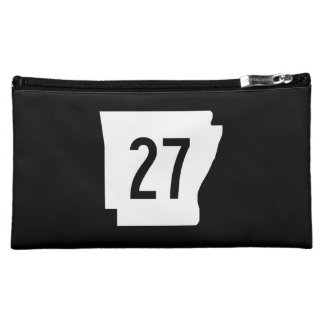 Arkansas State Route 27 Cosmetic Bag