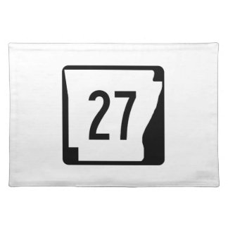 Arkansas State Route 27 Placemat