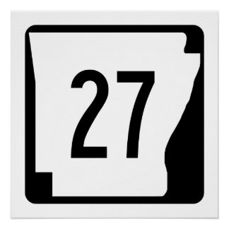 Arkansas State Route 27 Poster