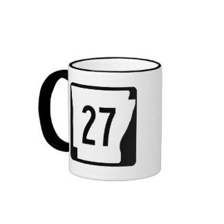 Arkansas State Route 27 Ringer Mug
