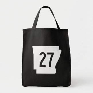 Arkansas State Route 27 Tote Bag