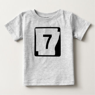 Arkansas State Route 7 Baby T-Shirt