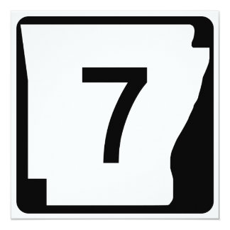 Arkansas State Route 7 Card