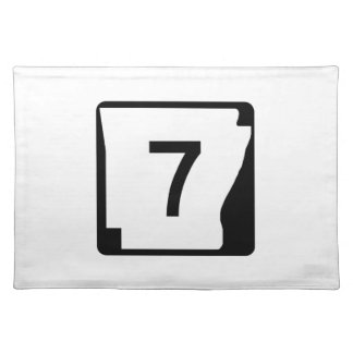 Arkansas State Route 7 Placemat