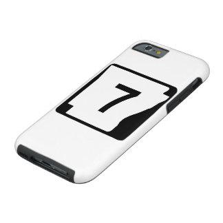Arkansas State Route 7 Tough iPhone 6 Case