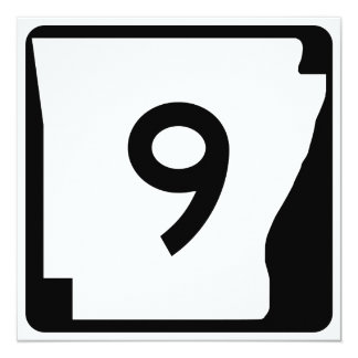Arkansas State Route 9 Card