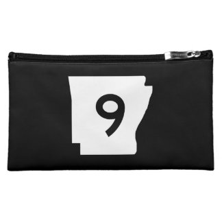 Arkansas State Route 9 Cosmetic Bag