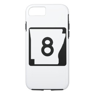 Arkansas State Route 9 iPhone 8/7 Case