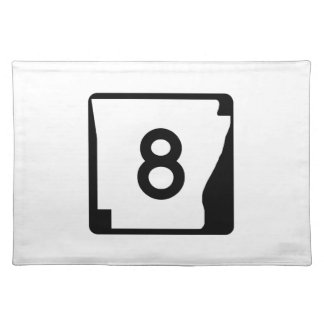 Arkansas State Route 9 Placemat