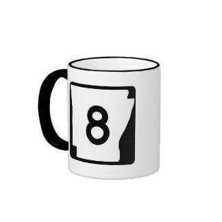 Arkansas State Route 9 Ringer Mug