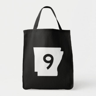 Arkansas State Route 9 Tote Bag
