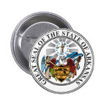 Arkansas State Seal Button