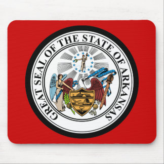 ARKANSAS STATE SEAL MOUSE PAD