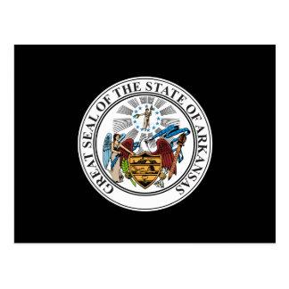 Arkansas State Seal Postcard