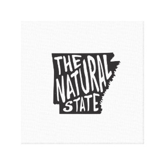 Arkansas: The Natural State Canvas Print