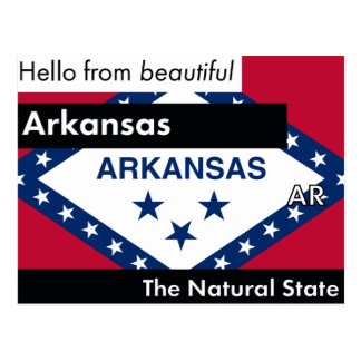 Arkansas The Natural State Postcard