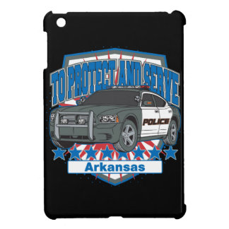 Arkansas To Protect and Serve Police Car Case For The iPad Mini