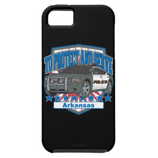 Arkansas To Protect and Serve Police Car iPhone SE/5/5s Case