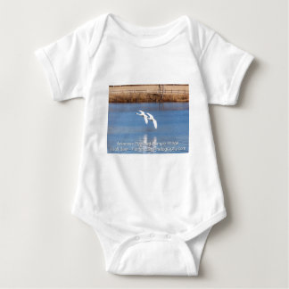 Arkansas Trumpeter Swans Baby Bodysuit