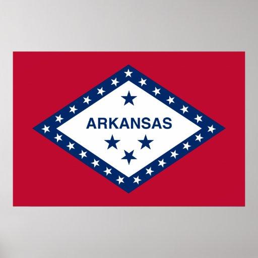 Arkansas, United States Print