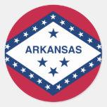 Arkansas, United States Round Sticker
