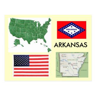 Arkansas, USA Postcard