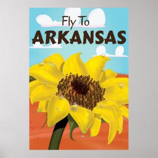 Arkansas Vintage Travel poster