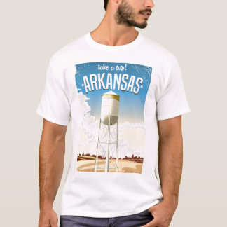 Arkansas Vintage Travel poster T-Shirt
