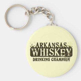 Arkansas Whiskey Drinking Champion Keychains