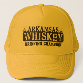 Arkansas Whiskey Drinking Champion Trucker Hat