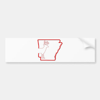 Arkansas White-Tailed Deer Bumper Stickers