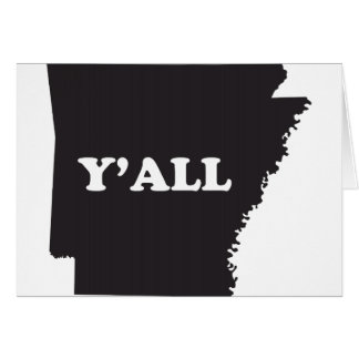 Arkansas Yall Card