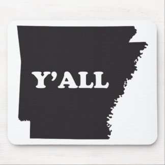 Arkansas Yall Mouse Pad