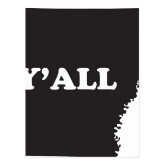 Arkansas Yall Post Card