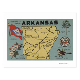 ArkansasLarge Letter ScenesArkansas 2 Postcard