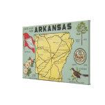 ArkansasLarge Letter ScenesArkansas Gallery Wrap Canvas